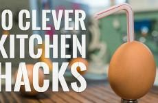 10 vymakaných kuchyňských hacků