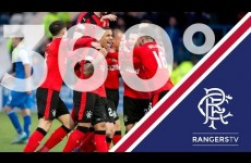 360° záznam gólů