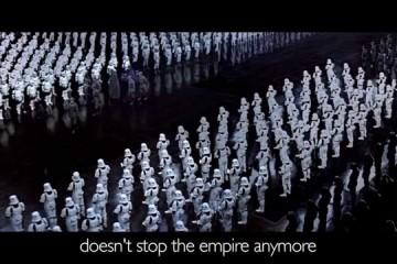 Hello from the Dark side – parodie na známý song Adele od fanoušků Star Wars