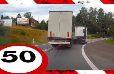 Sestřih bouraček z polských silnic