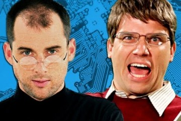 Steve Jobs versus Bill Gates v epickém RAP Battle