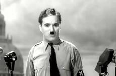 Zhudebněný proslov Charlieho Chaplina – Let us All unite!